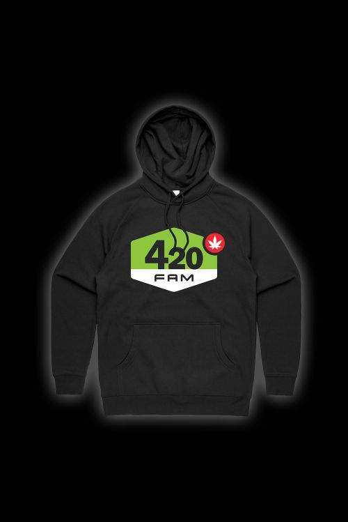 420 FAM HOODY  by ChillinIt
