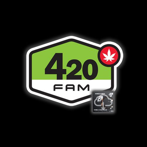 420 FAM AIR FRESHENER w/Full Circle Digital Download by ChillinIt