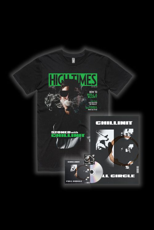 Full Circle CD w/Digital Download/Poster/High Times Tee by ChillinIt