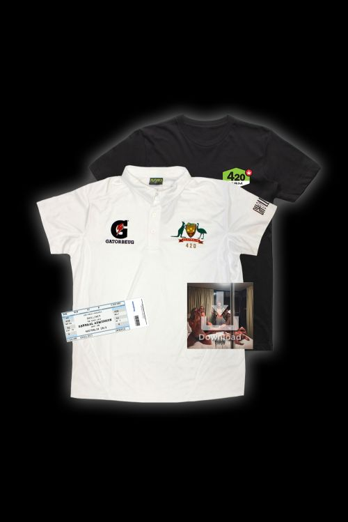 ULTIMATE TEST MATCH BUNDLE   : Cricket Polo + T-Shirt + GA Ticket + Digital Album by ChillinIt