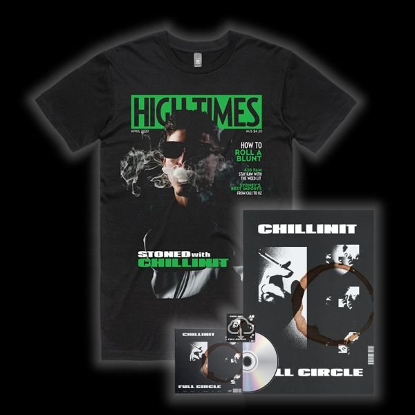 Full Circle CD w/Digital Download/Poster/High Times Tee