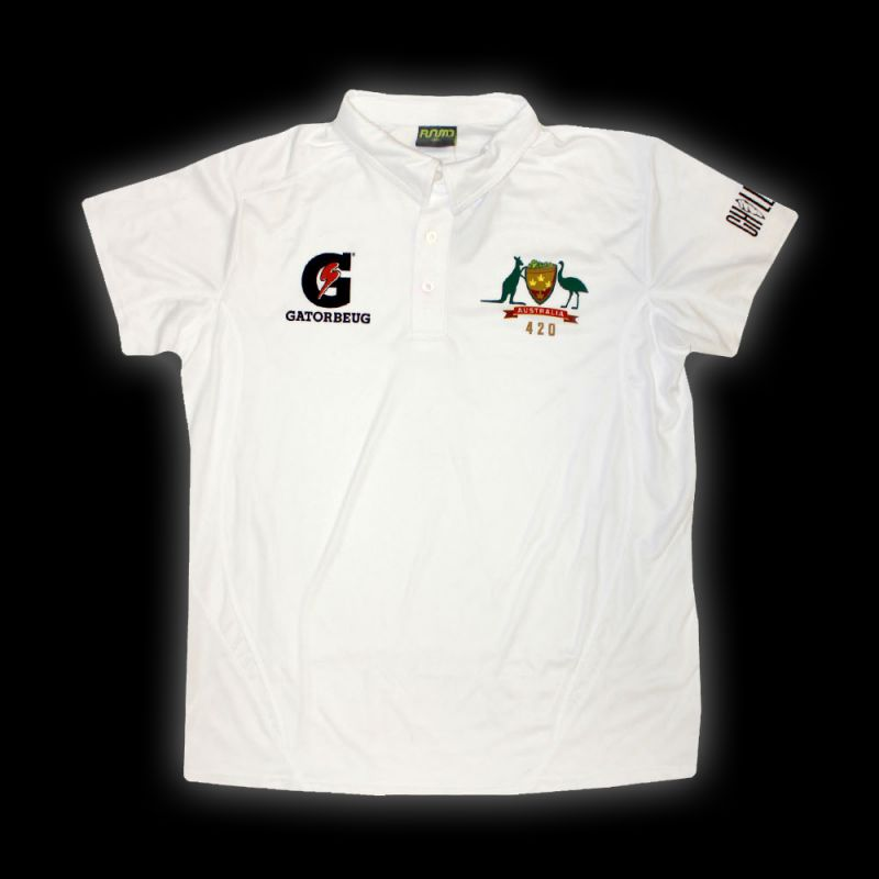CONE OF ARMS CRICKET POLO